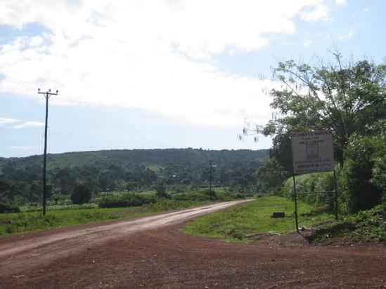The sign outside St. John's Wakitaka.