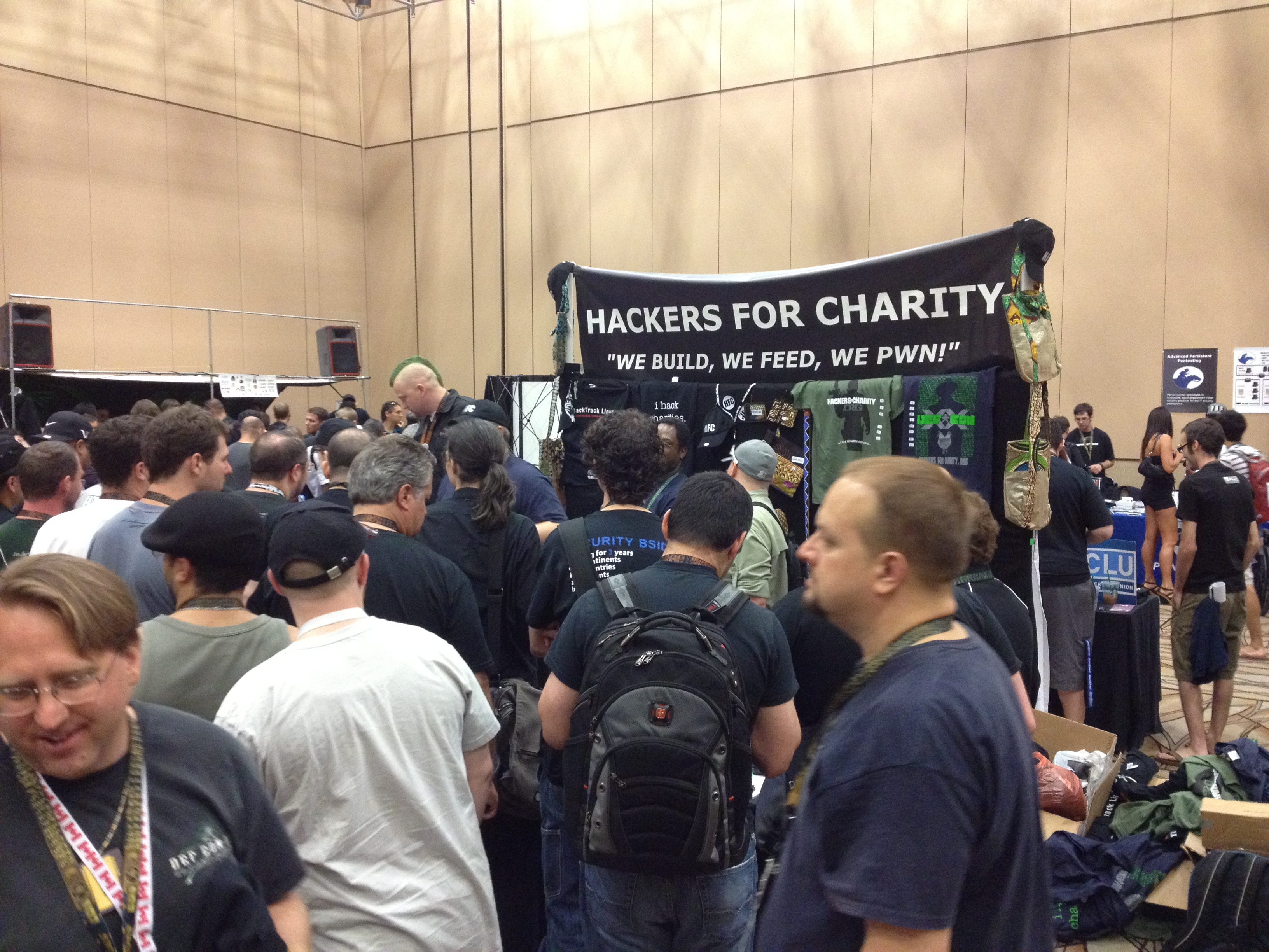Blackhat / Defcon 2012 – Hackers For Charity