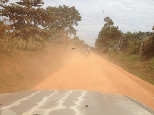 One of the shortcuts north to Gulu