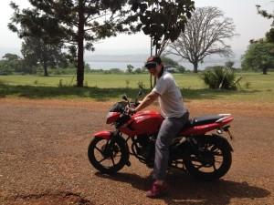 Jo riding