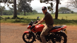 Tim riding