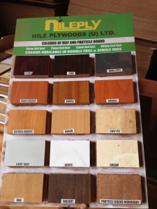 Selection of MDF/Particle board