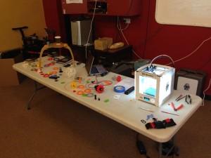 Ultimaker 2 Go Printer Table