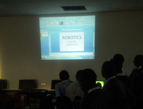 HFC LittleBits training at Jinja Uganda Senior Secondary
