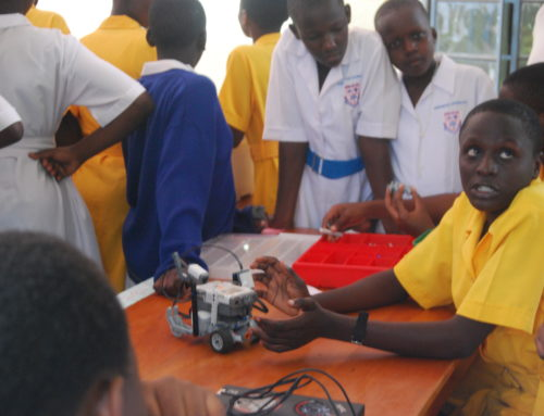 Iganga Senior Secondary Robotics Club Seven years after our first install!